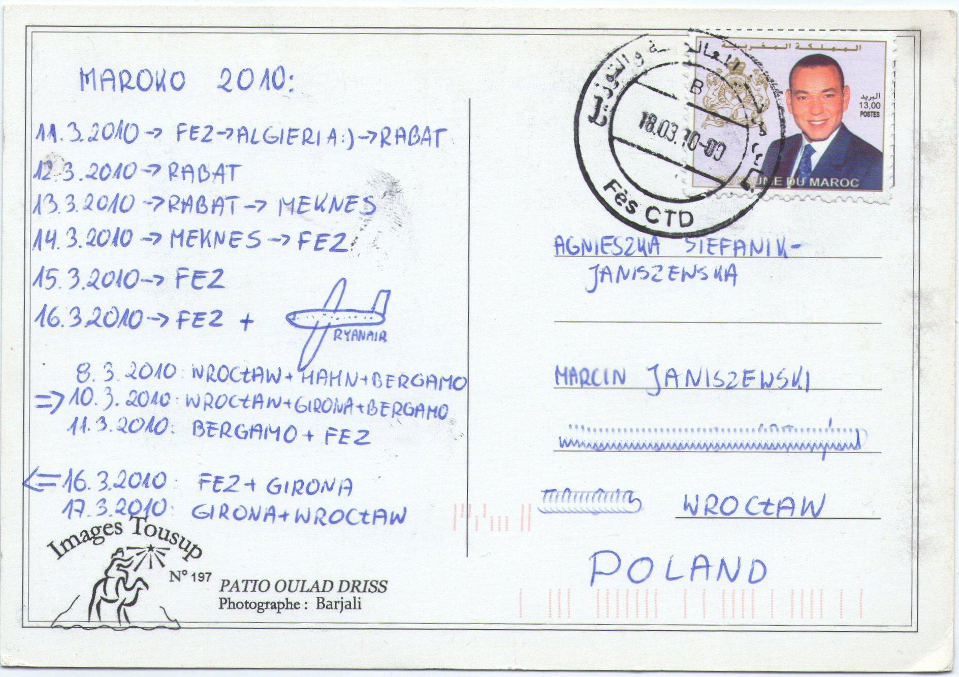 Kartka z Maroka