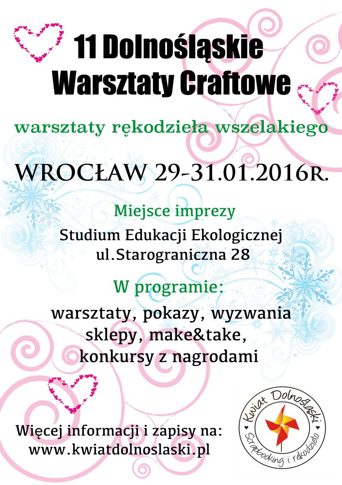 Zimowy zlot i warsztaty. / Winter craftshow and sewing workshops