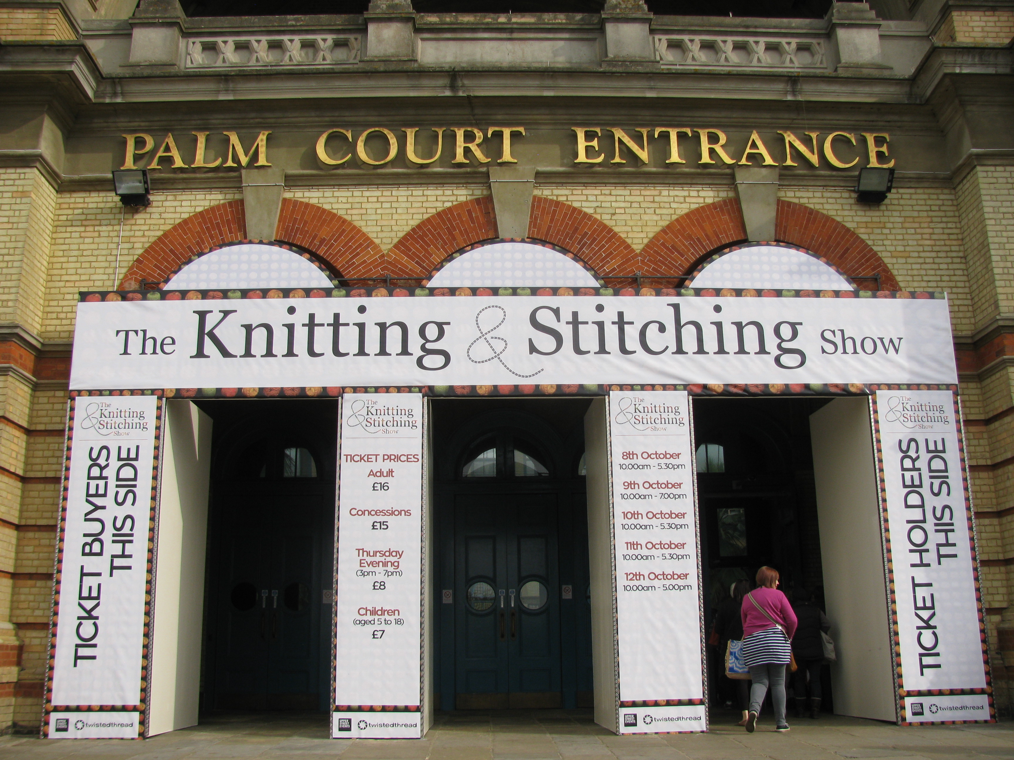 Knitting and Stitching Show 2014