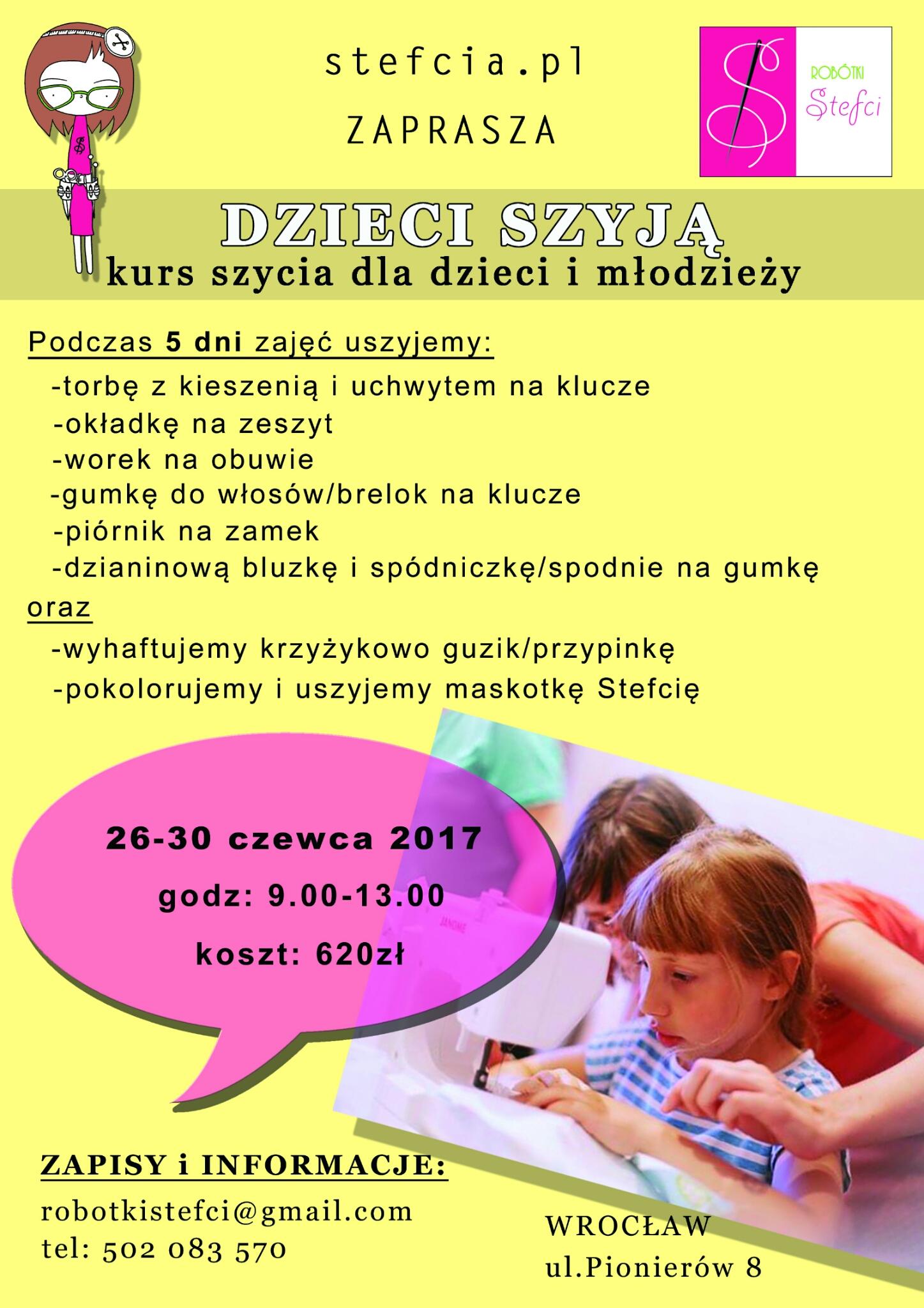 Dzieci szyją