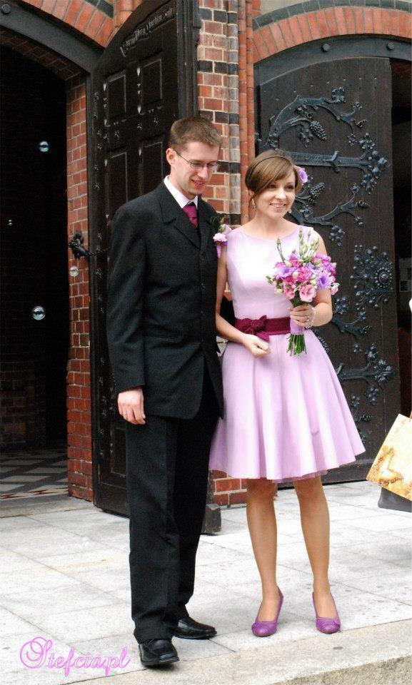 Nietypowa sukienka ślubna