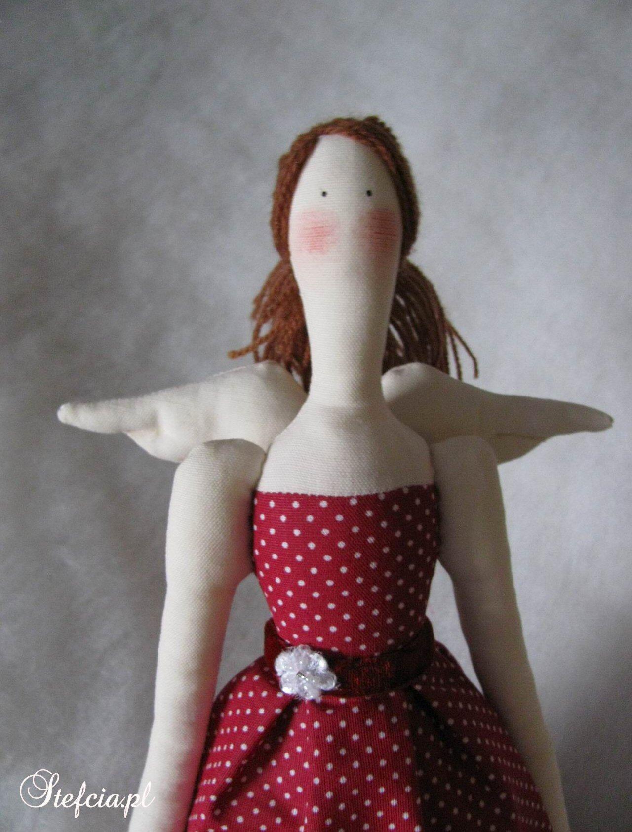 tilda aniolek sukienka w kropki czerwone gora_01